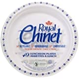 Royal Chinet Luncheon Plates, 8 3/4-Inch, 40-Count