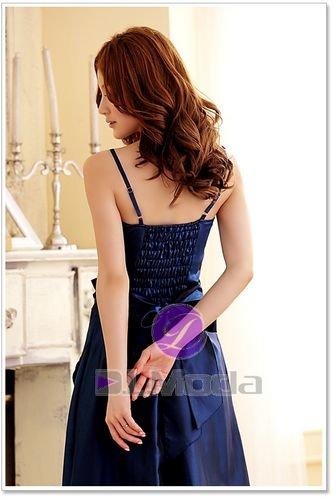 NUEVO Balón vestido para vestido de noche fiesta vestido novia para vestido (Tallas 34–�?0con tirantes Azul