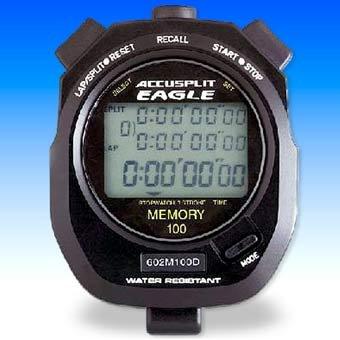 UPC 093866476010, ACCUSPLIT AE760M100 Professional Stopwatch, 100 Memory (Black)
