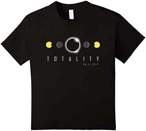 Total Eclipse Shirt 2017, Solar Eclipse Phases Totality Gift