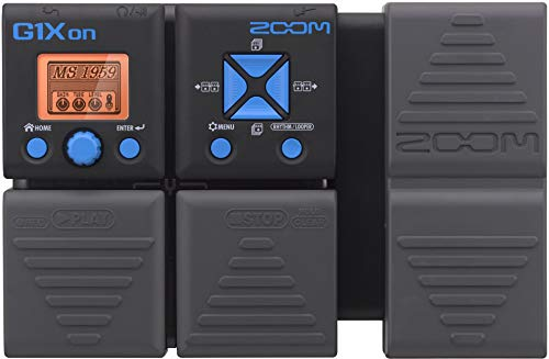 Zoom G1Xon Guitar Effects Pedal with Expression Pedal by Zoom