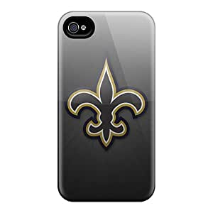Hot Tpu Cover Case For Iphone/ 4/4s Case Cover Skin - New Orleans Saints