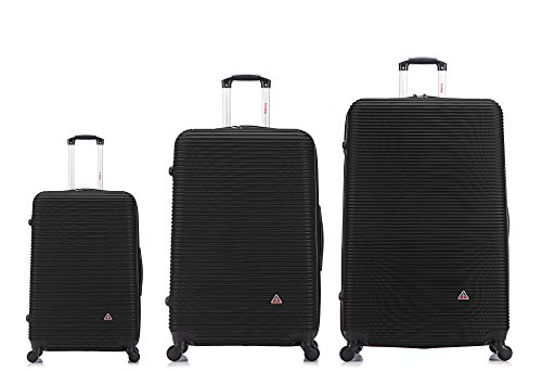 InUSA Luggage Royal Lightweight Hardside Spinner 3 piece Set 20