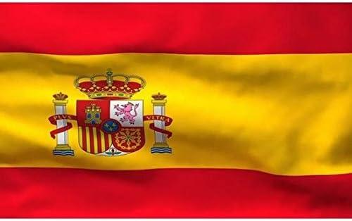 Générique Bandera española España Oficial 90 x 145 cm: Amazon.es: Hogar