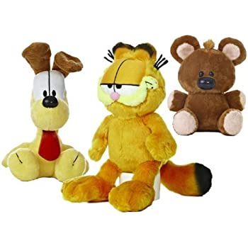 Garfield the Cat Plush Set: Garfield, Odie, Pooky by Aurora World (7