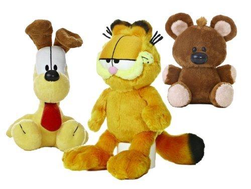 Garfield the Cat Plush Set: Garfield, Odie, Pooky by Aurora World (7