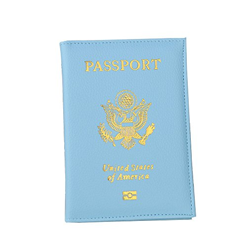 Bags Couverture Vintage De Femme Wolfleague Carte Cher Reutilisable Pas Paquet Minnie Ciel Protection Sac Document Bleu 71BxSqTww