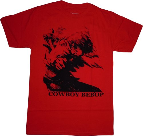 Cowboy Bebop: Spike in Motion Red T-Shirt
