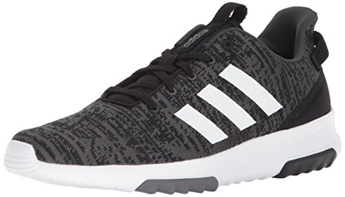 adidas Men's Cf Racer Tr, core Black/White/Carbon, 9 M US