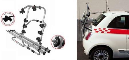 Adapter und Montagesatz Einfacher Fahrrad-Hecktr/äger 90307680 zum Transport von 2 R/ädern auf der Heckklappe f/ür Hyundai iX20 inkl