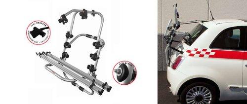 Adapter und Montagesatz inkl Einfacher Fahrrad-Hecktr/äger 90305123 zum Transport von 2 R/ädern auf der Heckklappe f/ür Opel Adam