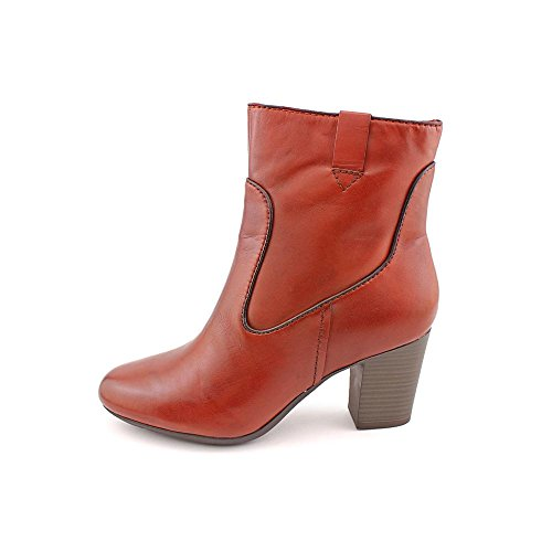 Clarks Stroll Vine Ankle Boots Rust KYOTn1h0h