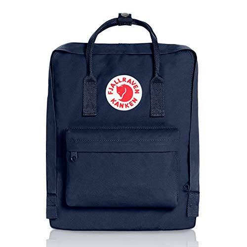Fjallraven - Kanken Classic Backpack for Everyday, Royal - Striped Day Trip Shirt