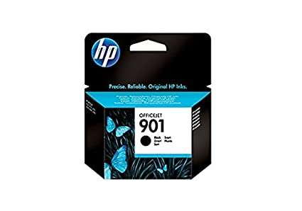 HP Cartucho de Tinta Negra Officejet HP 901 901 Officejet Ink Cartridges, De 20 a 80% HR, de -40 a 60 °C, de 15 a 32 °C, De 20 a 80% HR, 116 x 36 x ...