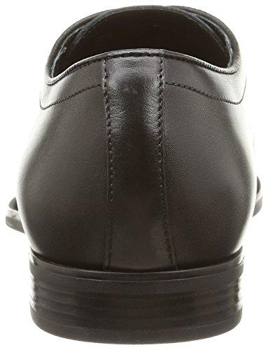 GeoxU New Life A - zapatos derby hombre Schwarz (BLACKC9999)