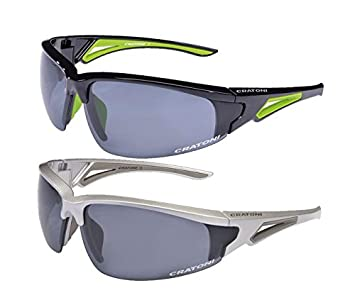 f2cc4d7f8b3 Cratoni Cycling Glasses Crush black Noir - Black Glossy Neon Yellow  Size taille unique