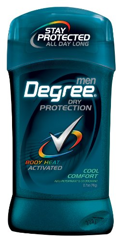 Degree Men antisudorifique et déodorant, Cool Comfort 2,7 once (Pack de 6)