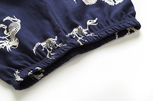 Koian Little Boys Short Pajamas Sets Toddler PJS Cotton Kids Sleepwears (Blue Dinosaur, 2T) by Koian (Image #6)