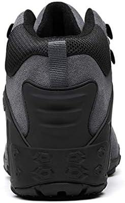 トレッキングシューズ メンズ 防滑 耐磨耗 登山靴 通気性 ハイキングシューズ スエード 透湿 アウトドアスニーカー
