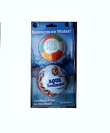 Waboba Aqua Bouncer & Aqua Bouncer Jr. Water Balls by - Bouncer Aqua
