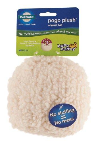 Premier Pet Products Pogo Plush Ball Dog Toy, Large, My Pet Supplies