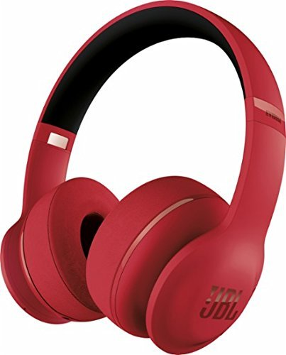 Price comparison product image JBL - Everest 300 Wireless On-Ear Headphones - Red