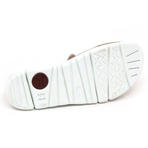 E6058 Camper Sandal Woman Scarpe Sandalo Shoe Bianco without Donna Box White rrdZq