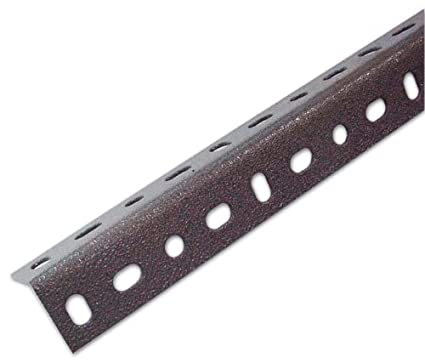 Scaffali Metallici Angolari.Angolare Per Scaffale In Lamiera 35x35x200 Cm Colore Grigio