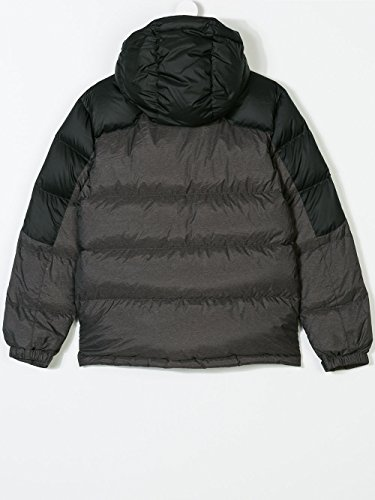 RALPH LAUREN Boy's Down Puffer Coat (Black/Grey, Large (14-16)) by RALPH LAUREN (Image #1)