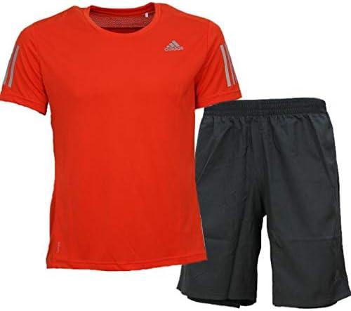 ジャージ 上下 メンズ トレーニングウェア Tシャツ 半袖 + ハーフ FWB26 FRO66 2カラー 上下セット セットアップ