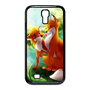Samsung Galaxy S4 I9500 Phone Case Black Fox and the Hound 2 MG669453