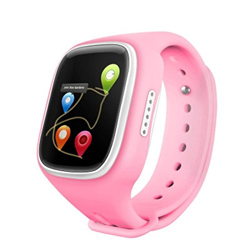 Smartwatch KINGEAR Children Anti lost Tracker Pink