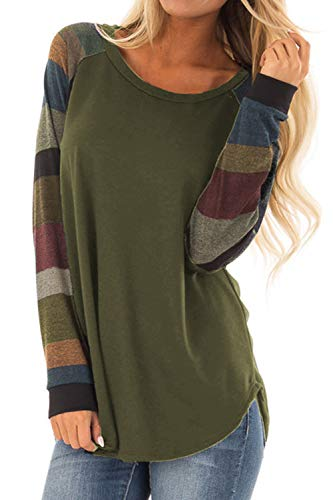 Allimy Women Casual Long Sleeve ...
