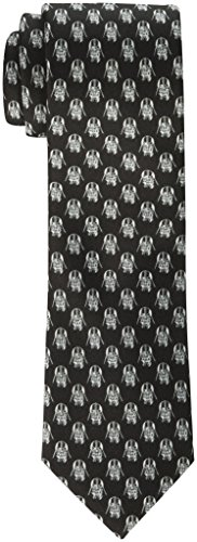 (Star Wars 1100 Furnishing's Men's Darth Vader All Over Tie, Black,)