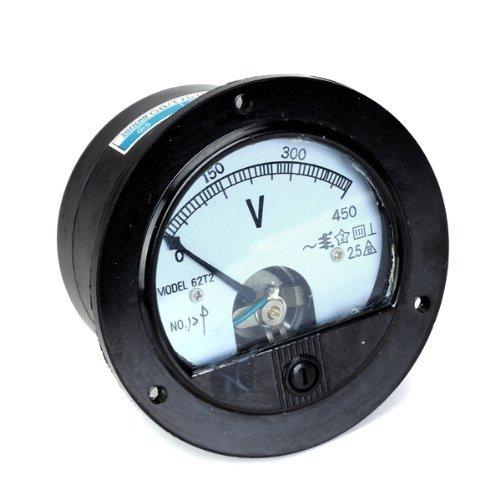 Sonline Autour ACH 0-450V Tension Volt analogique Indicateurs de Tableau Voltmetre