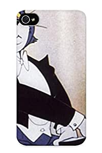 Bacc19c745 With Unique Design Iphone 4/4s Durable Tpu Case Cover Tom And Jerry 2