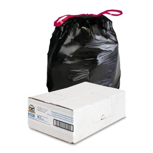 ng Trash Can Liner , Black ()