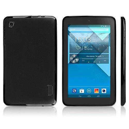 Alcatel OneTouch Pop 7 Case, BoxWave® [Blackout Case] Durable, Slim Fit, Black TPU Cover for Alcatel OneTouch Pop 7 (0 Alcatel Touch One)