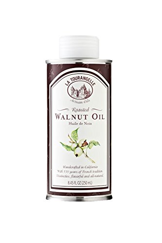 (La Tourangelle Roasted Walnut Oil 8.45 Fl. Oz., All-Natural, Artisanal, Great for Salads, Grilled Fish and Meat, or Pasta)