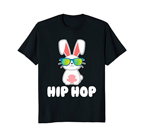 - Hip Hop Bunny With Sunglasses Cute Easter T-Shirt