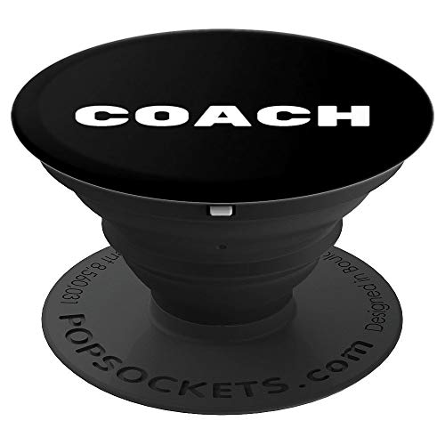 - Coach Gift Baseball Softball Football Cheerleading MMA - PopSockets Grip and Stand for Phones and Tablets
