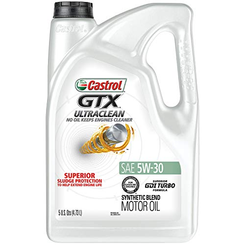 Castrol 03096 GTX ULTRACLEAN 5W-30 Motor Oil