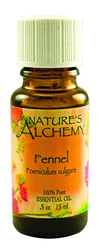 Nature's Alchemy Essential Oil, Fennel (Foeniculum Vulgare), 0.5 oz (15 ml) (Pack of 3)