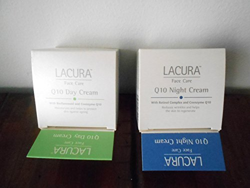 Lacura Day and Night Face Cream Q10 Anti-Wrinkle Combo Pack
