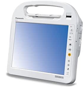 Panasonic - Toughbook H1 Fully-Rugged Tablet - Atom Z540 1.86GHz - 2GB RAM - 64GB Solid State Drive - 10.4 inch Touchscreen