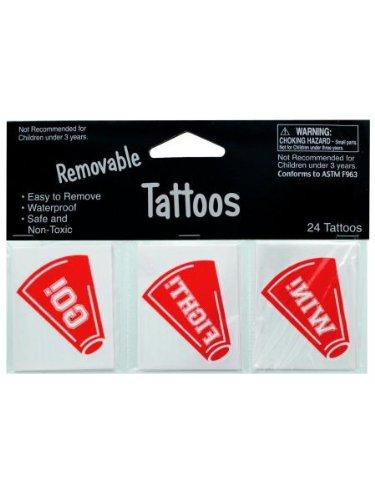 Removable Cheer Tattoos (Sport Tattoos)
