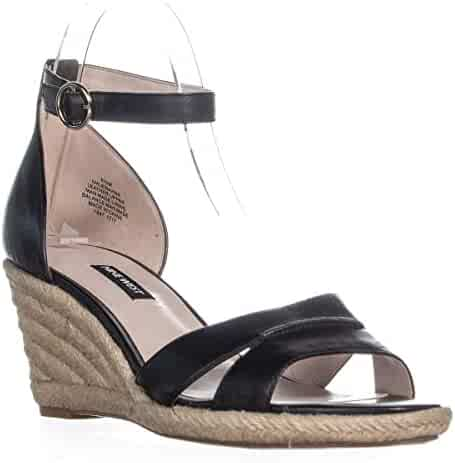 aa565feac Nine West Womens Jeranna Fabric Open Toe Casual Platform Sandals