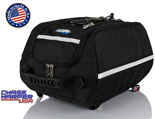 (Chase Harper USA 4000 Aeropac Tail Trunk - Water-Resistant, Tear-Resistant, Industrial Grade Ballistic Nylon with Adjustable Bungee Mounting System for Universal Fit)