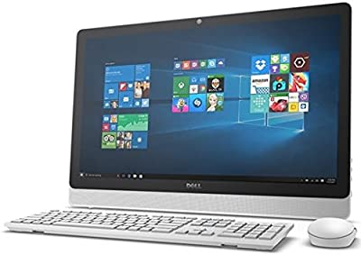 """Dell Inspiron 3000 24"""" FHD Touchscreen All in one Desktop Computer (AMD Quad-Core A8-7410 up to 2.5GHz, 8GB RAM, 1TB HDD, DVDRW, USB 3.0, Bluetooth, HDMI, Windows 10) (Certified Refurbished)"""