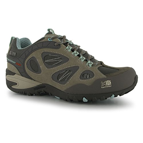 Randonne De Event Chaussures Ridge Teal Ladies Womens Karrimor Taupe Lacets HxqYTn